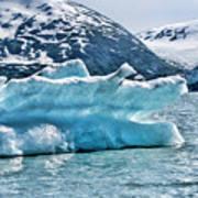Iceberg Glacier Alaska  Art Print
