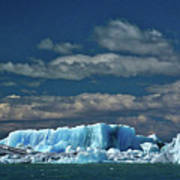 Iceberg In Viedma Lake - Patagonia Art Print