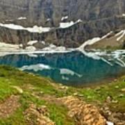 Iceberg Lake Glacier Art Print