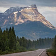 Icefields Parkway Banff National Park Art Print
