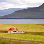 Iceland Landscape Art Print