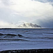 Iceland Lava Field Mountains Clouds Iceland Lava Field Mountains Clouds Iceland 2 282018 1837.jpg Art Print