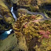 Icelandic Autumn Art Print