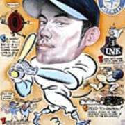 Ichiro. Art Print