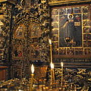Iconostasis - Church Of Elijah The Prophet Art Print