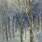 Icy Bells Art Print