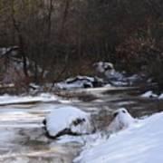 Icy Creek Art Print