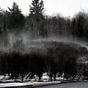 Icy Fog Art Print