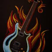 Icy Hot Axe Art Print