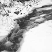 Icy Swath Art Print