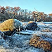 Icy Waters 2 Art Print