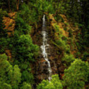 Idaho Springs Waterfall Art Print