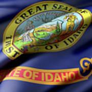 Idaho State Flag Art Print