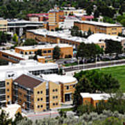 Idaho State University Upper Campus With Holt Arena Art Print