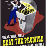Ideas Will Help Beat The Promise Art Print