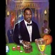 Idris Elba As James Bond 007 #2 Art Print