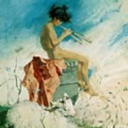 Idyll Art Print by Mariano Fortuny y Marsal