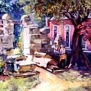 Idyllic Landscape Art Print
