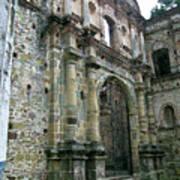 Iglesia De La Compania De Jesus 2 Art Print