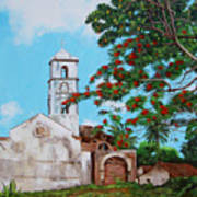 Iglesia De Santa Anna Art Print