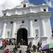 Iglesia De Santo Tomas Church Art Print