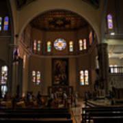 Iglesia Maria Auxiliadora - San Salvador Xix Art Print