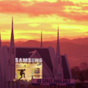 Iglesia Ni Cristo Sunset Cebu City Philippines Art Print