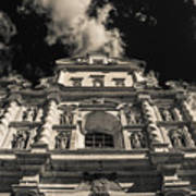 Iglesia San Francisco - Antigua Guatemala Bnw I Art Print