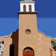 Iglesia San Jose 1922 Art Print