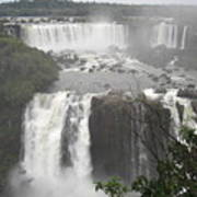 Iguassu Falls Art Print