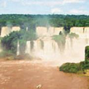Iguazu Falls 2 Art Print