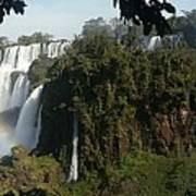 Iguazu Falls Panoramic View Art Print