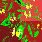 Ikebana Art Print by Eikoni Images