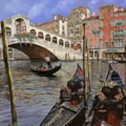 Il Ponte Di Rialto Art Print