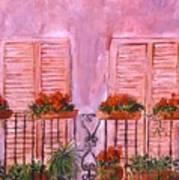 Il Terrazzo In Roma, II Art Print