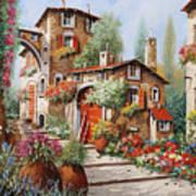 Il Villaggio Art Print