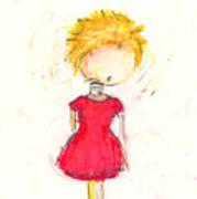 Im A Bobble Head Art Print