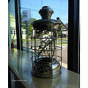Image Included In Queen The Novel - Lantern In Window 19of74 Enhanced Poster Art Print
