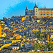 Image Of Portugal From The Road Art Print