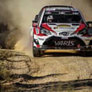 imagejunky_KB - RallyRACC WRC Spain - Esapekka Lappi / Janne Ferm Art Print