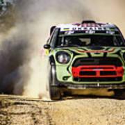 imagejunky_KB - RallyRACC WRC Spain - Gorban / Larens Art Print