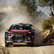 imagejunky_KB - RallyRACC WRC Spain - Lefebvre / Patterson Art Print