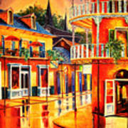 Images Of The French Quarter Art Print