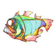 Imaginary Fish #1 Art Print
