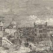 Imaginary View Of Venice Art Print