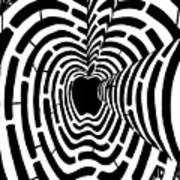 iMaze Apple Ad Maze Idea Art Print