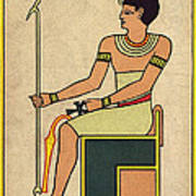 Imhotep, Egyptian Polymath Art Print