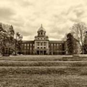 Immaculata University In Black And White Art Print