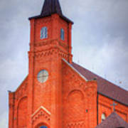 Immaculate Conception Catholic Church Art Print