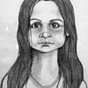 Immigrant Girl Art Print